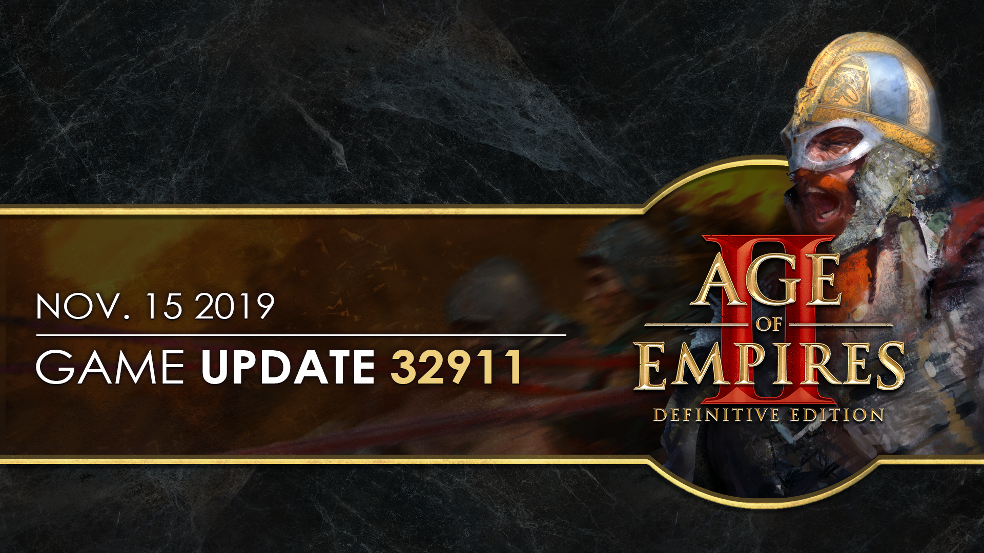 'Age of Empires II: Definitive Edition — Update 32911' thumbnail