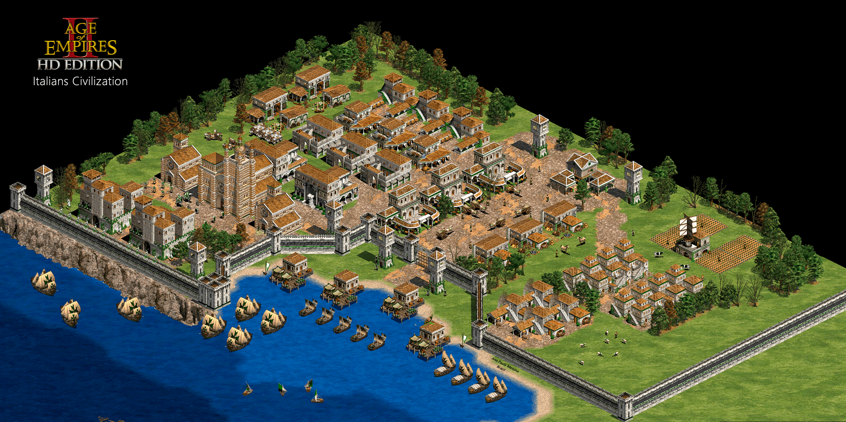 Anamessina S Aoe Ii Wallpapers Age Of Empires