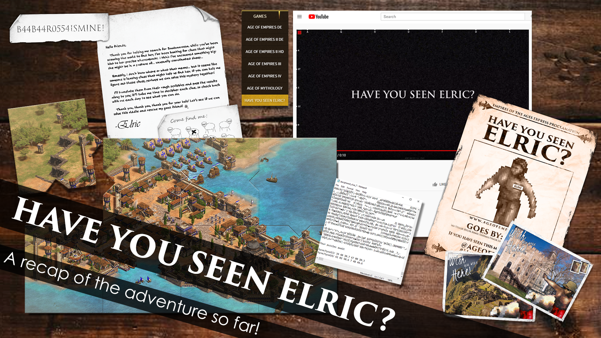 'Have You Seen Elric? A Recap of the Adventure So Far!' thumbnail