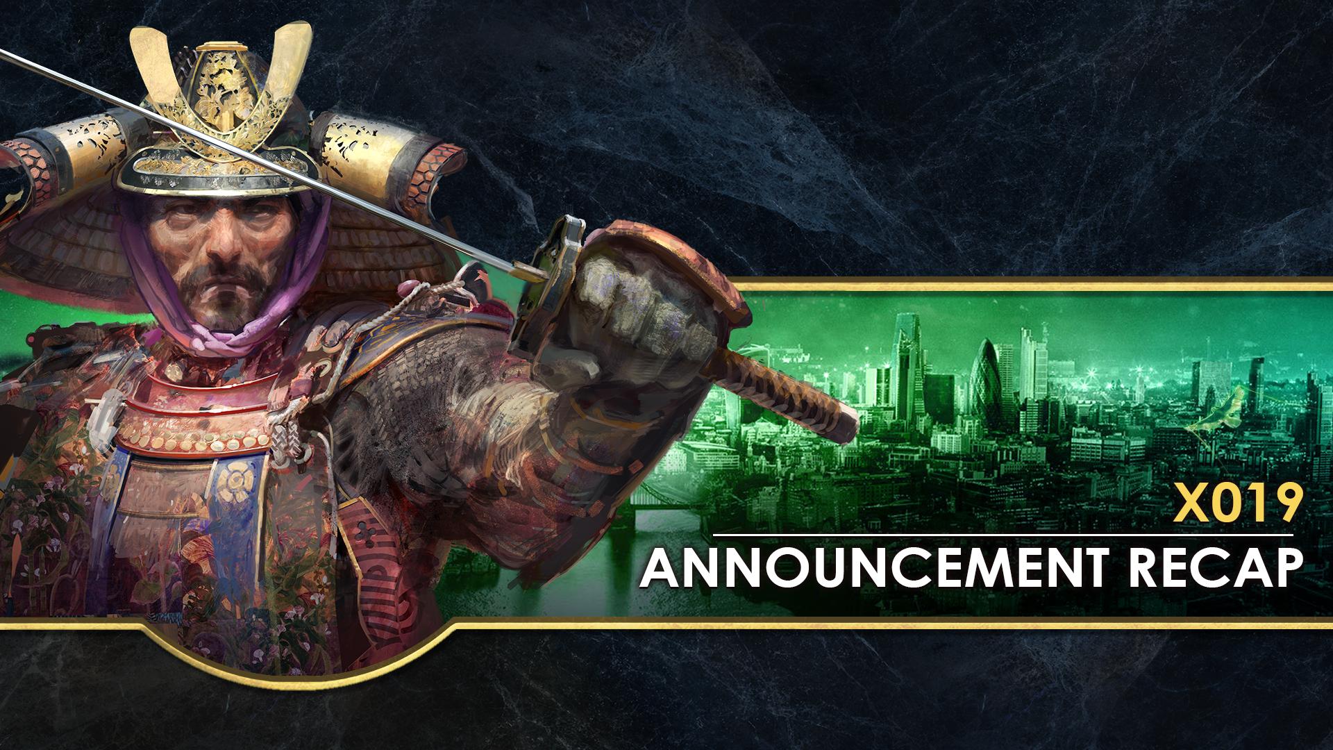 'X019 Announcement Recap' thumbnail