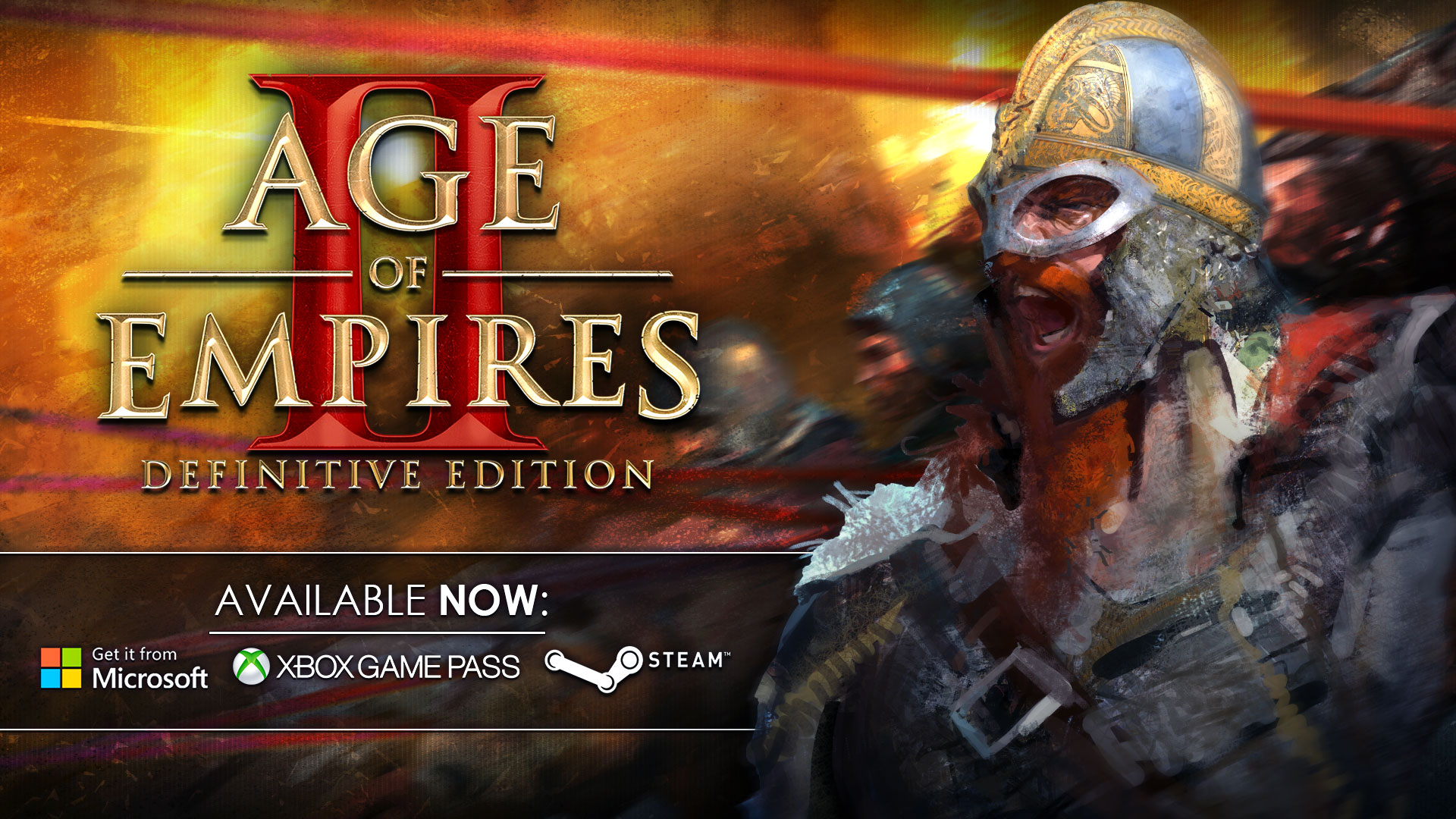 Age of Empires II: Definitive Edition released!