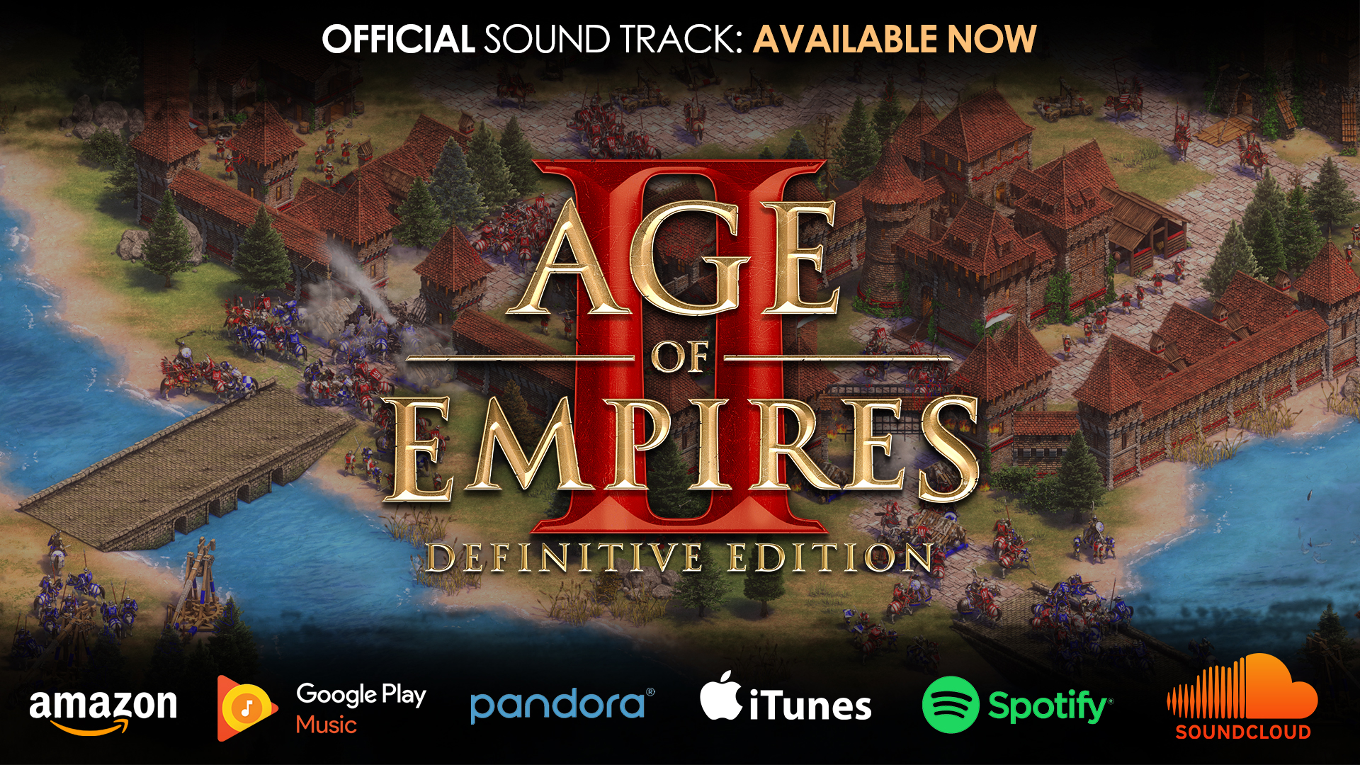 'The Age of Empires II: Definitive Edition Soundtrack is Now Available!' thumbnail