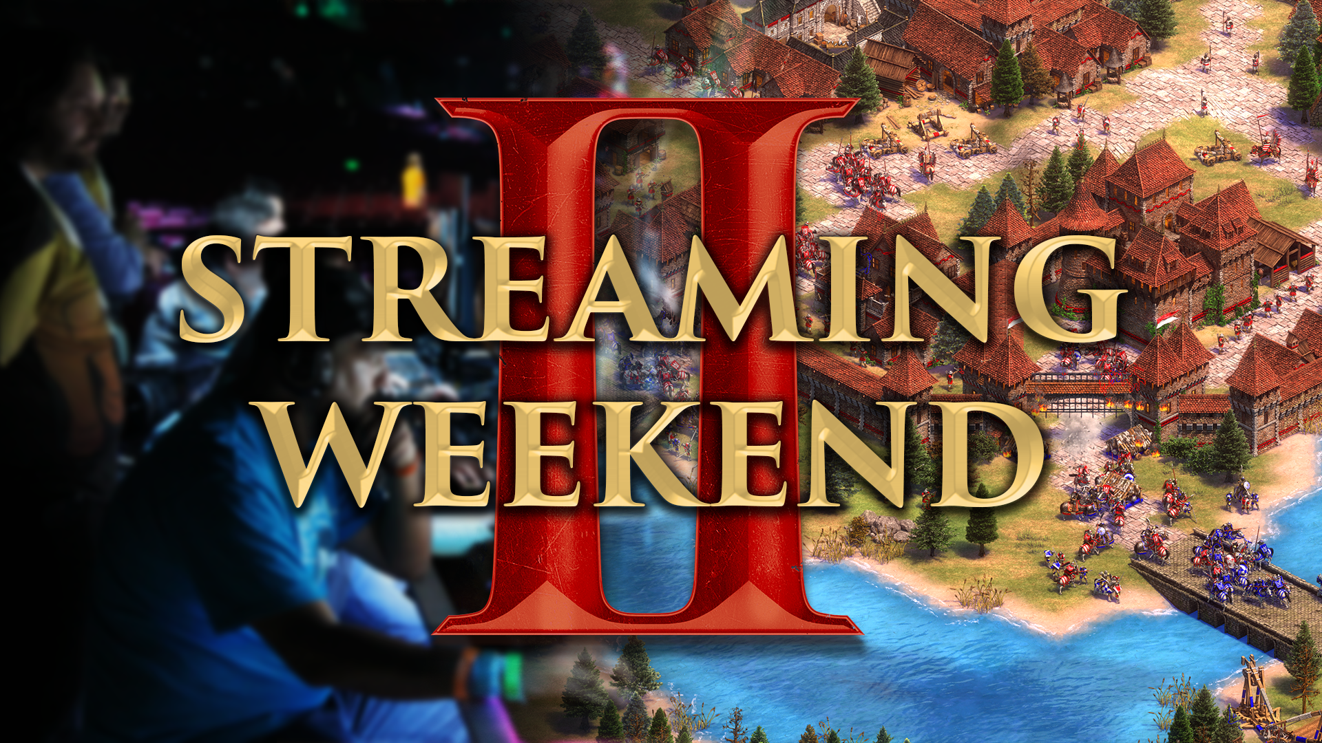 'Join us for the Age of Empires II: Definitive Edition Streaming Weekend! (Nov. 7 – 11)' thumbnail