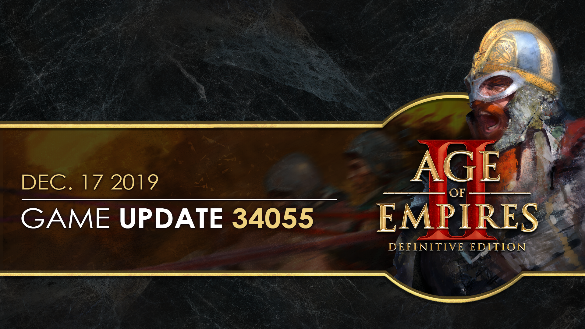 Age of Empires II: Definitive Edition — Update 34055