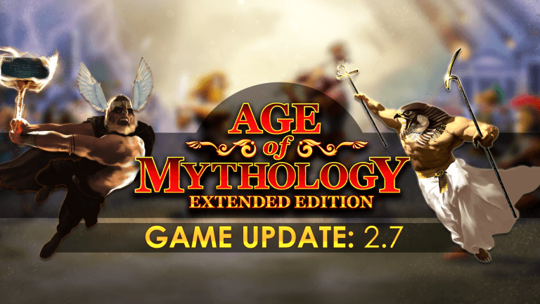 'Age of Mythology — Update 2.7' thumbnail