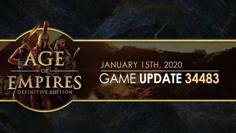 'Age of Empires: Definitive Edition — Update 34483' thumbnail
