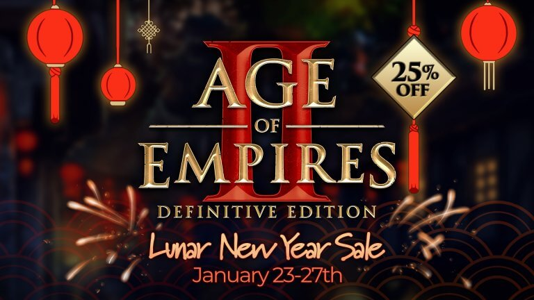 'Lunar New Years Sale: Age of Empires Franchise from 25-75% Off!' thumbnail