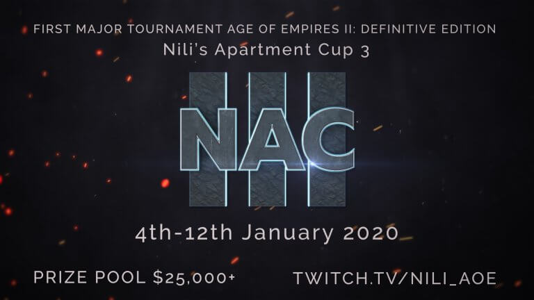 'Watch the Nili's Apartment Cup 3 Tournament NOW!' thumbnail