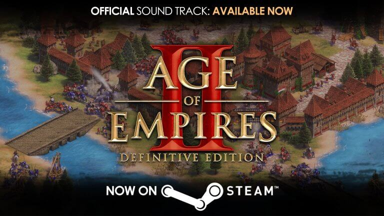 'Age of Empires II: Definitive Edition Soundtrack: Now Available on Steam!' thumbnail
