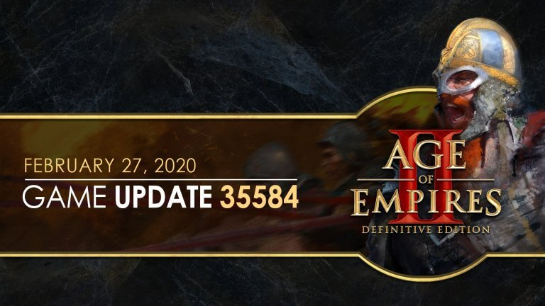 'Age of Empires II: Definitive Edition — Update 35584' thumbnail