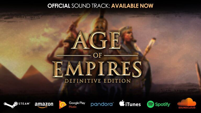 'Age of Empires: Definitive Edition Soundtrack is Now Available!' thumbnail