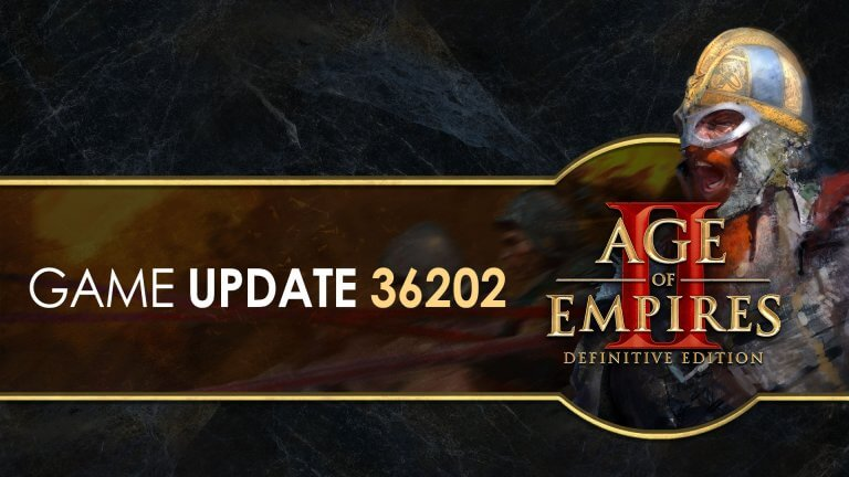'Age of Empires II: Definitive Edition — Update 36202' thumbnail