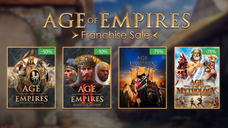 'Age of Empires Franchise Sale' thumbnail