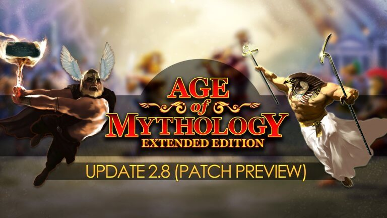 'Age of Mythology — Update 2.8 Preview' thumbnail