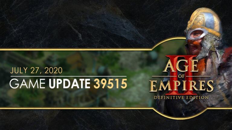 'Age of Empires II: Definitive Edition — Hotfix 39515' thumbnail