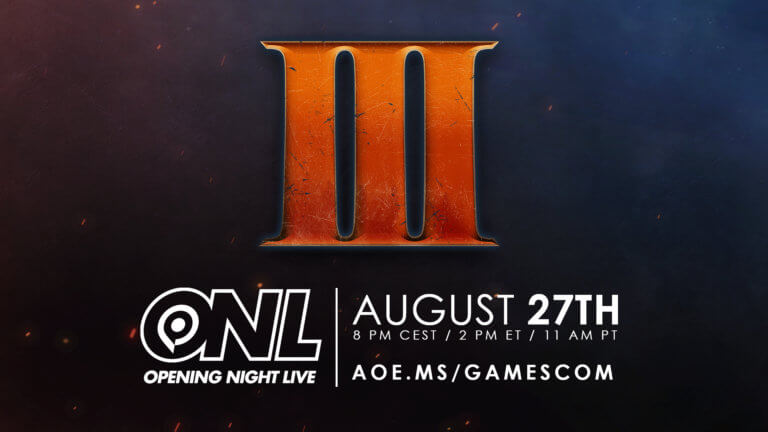 'Tune into gamescom: Opening Night Live!' thumbnail