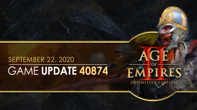 'Age of Empires II: Definitive Edition — Update 40874' thumbnail