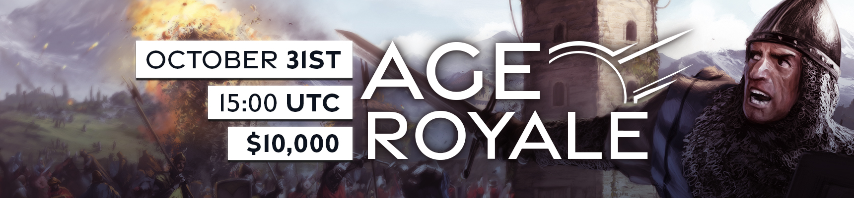 AgeRoyal Banner 2 Age Royale Tournament Celebrates Age of Empires II: DE Anniversary Update