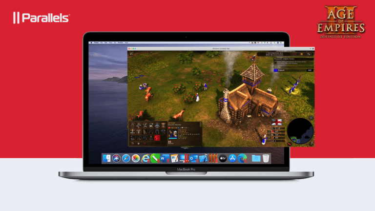'Run the new Age of Empires III DE on a Mac with Parallels Desktop' thumbnail