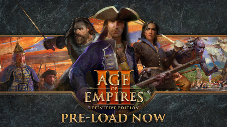 'Age of Empires III: Definitive Edition — PRE-LOAD NOW!' thumbnail