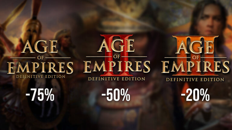 'Own a piece of history during the Age of Empires Autumn Sale!' thumbnail