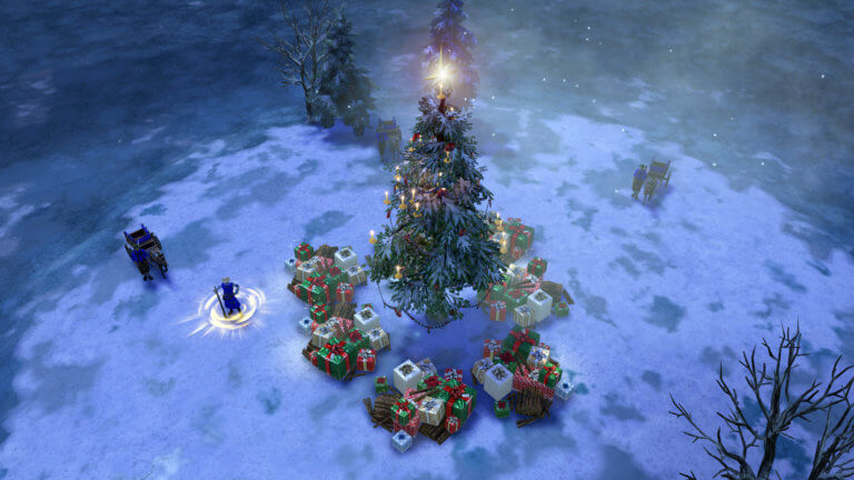'The Age of Empires III: DE Winter Wonderland Event Starts Now!' thumbnail