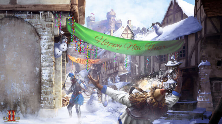 'Join the Age of Empires II: DE 2021 New Year Celebration!' thumbnail
