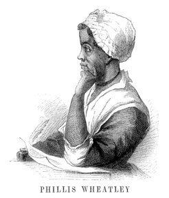 An engraving of Phillis Wheately
