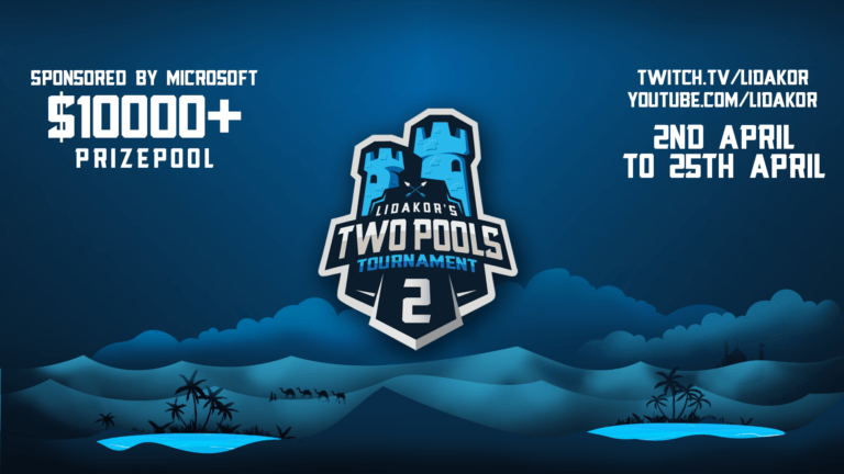 'The Two Pools 2 Tournament is LIVE!' thumbnail