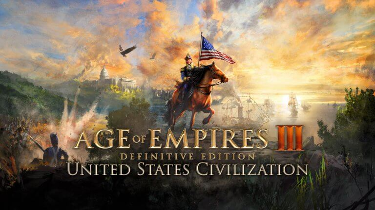 'Introducing: the United States Civ, new to Age of Empires III: Definitive Edition!' thumbnail