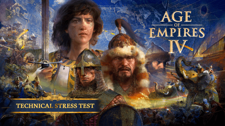 'The Age of Empires IV Technical Stress Test has begun!' thumbnail